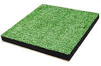 Гумова плитка-трава декоративна (40/8 мм) PuzzleGym, фото 1