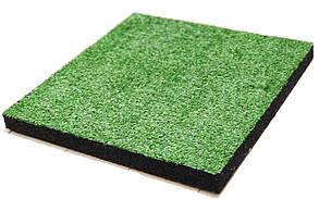 Гумова плитка-трава PuzzleGym Decor 500х500 мм (8 мм ворс)