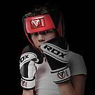 Боксерский шлем детский RDX Red, фото 6