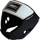 Боксерский шлем RDX White XL, фото 3