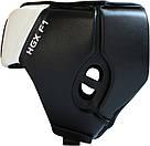 Боксерский шлем RDX White XL, фото 5