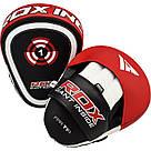 Лапы боксерские RDX Gel Focus Red, фото 2
