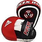 Лапы боксерские RDX Gel Focus Red, фото 3