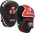 Лапы боксерские RDX Multi Red, фото 6