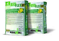 Клей для плитки Bioflex S1 Kerakoll. Категорія C2TE S1. 25кг