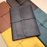 Софтбук B6. Блокнот в кожаной обложке ручной работы