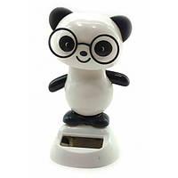 Панда танцующая на солнечной батарее (Flip Flap) (10,5х6х6 см) ( 32822)