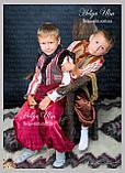 """Кептарик """"Брати"""" (сірий) для хлопчика на замовлення 104, фото 2"""