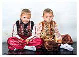 """Кептарик """"Брати"""" (сірий) для хлопчика на замовлення 104, фото 5"""