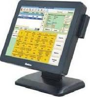Сенсорный монитор SPARK-TМ-7015 в комплекте со считывателем магнитных карт USB(3 дорожки)