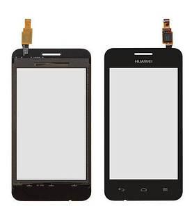 Сенсор (Тачскрин) для телефона Huawei Y330-U11 (Черный) Оригинал Китай