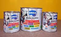 Эмаль Smile Экспресс антикор. 3в1, Молотковый эффект (14 цветов) 2,0кг