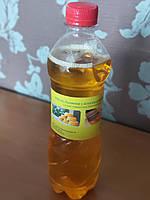 Льняное масло 0.5 л бутылка с воском для пропитки дерева - Упаковка 1.5 л