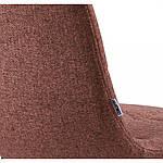 Стул Norman (Норман) текстиль терракотовый, Concepto, фото 5