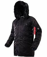 Оригінальна зимова куртка аляска Airboss Winter Parka 171000123221 (чорна)
