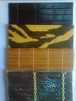 Коврик бамбуковый 2шт в упаковке,р-р 180мм*180мм.