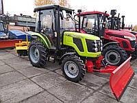 Трактор коммунальный ZOOMLION RK-504 с отвалом и щеткой, фото 1