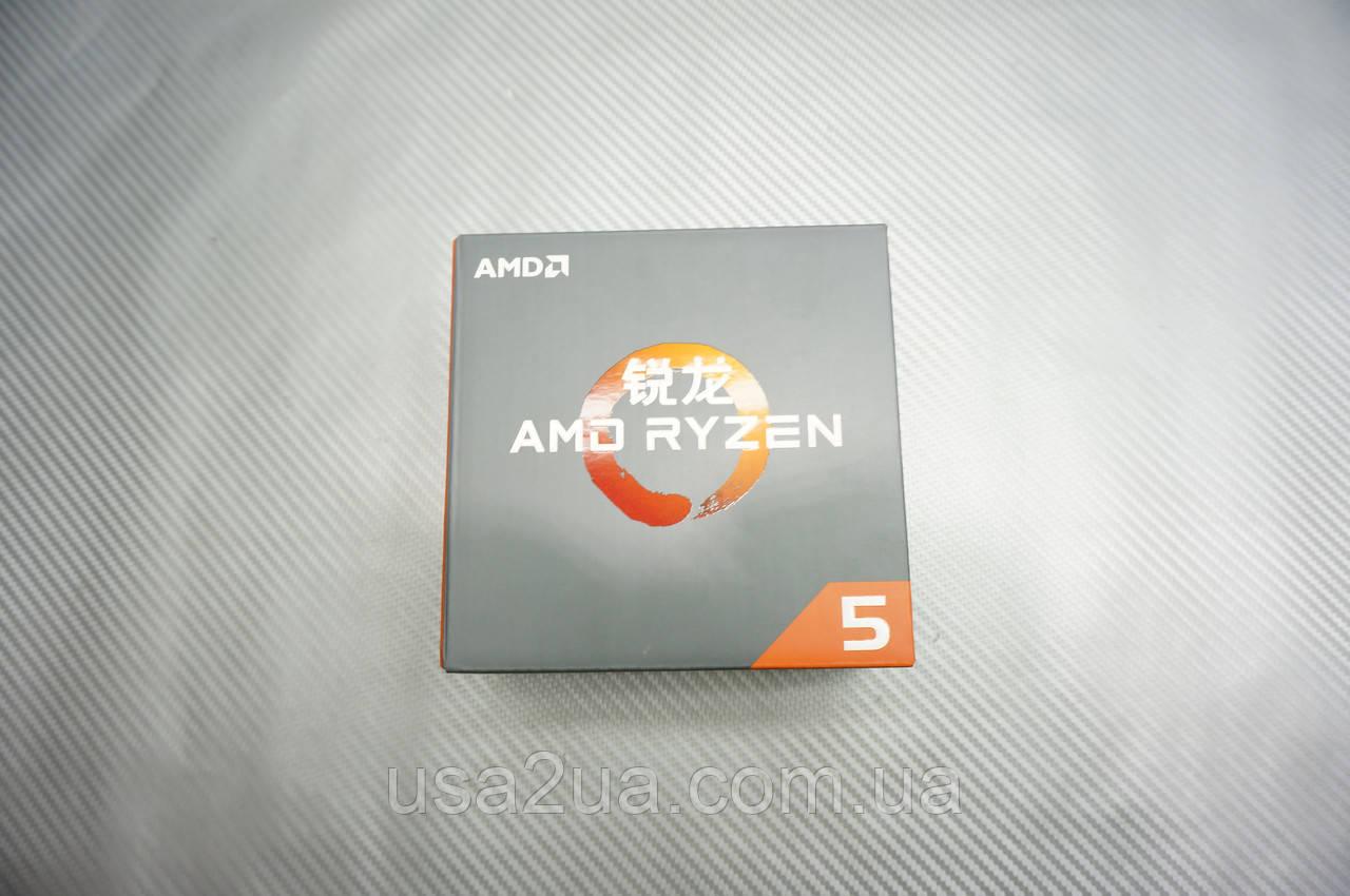 Процессор AMD Ryzen 5 1600X (Turbo Boost 4 GHz) L3 16Mb 14 nm TDP 95W новый запечатанный гарантия кредит