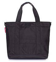 Городская сумка Poolparty Mall (черная)