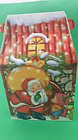 """Новогодняя картонная коробка для конфет, """"Каменый Дом"""", на 600грамм, (25 шт), фото 1"""