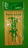 Палочка для шашлыка бамбуковые (100шт) 15см 2.5mm (1 пач), фото 1