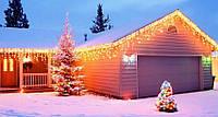 Как развесить рождественские гирлянды?