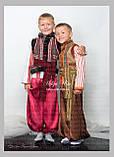 """Кептарик """"Брати"""" (беж) для хлопчика на замовлення 128, фото 2"""