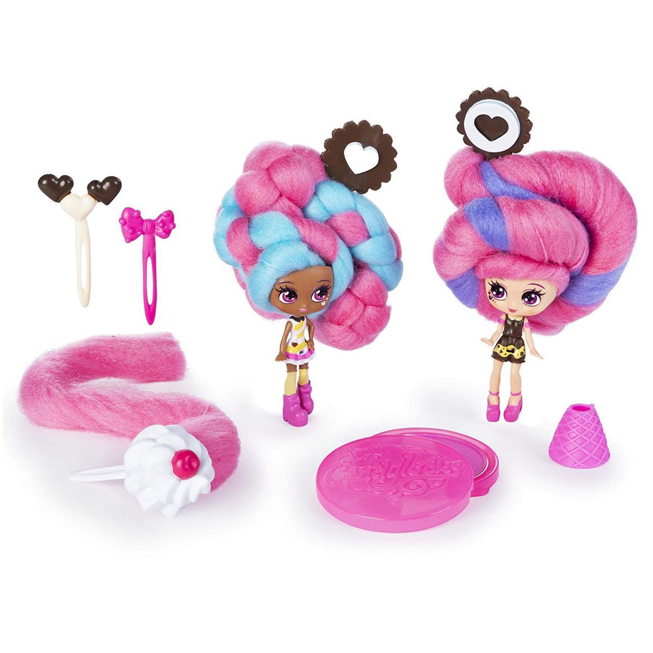 Candylocks Набор ароматизированных кукол-сюрприз Кендилокс сахарная вата Candylocks (США) Spin Master Оригинал