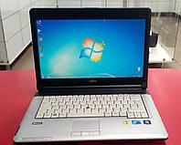 """Ноутбук Fujitsu LifeBook S710 14"""" Intel Core i5 2.4 GHz 4 GB RAM 160 GB HDD Silver Б/У"""