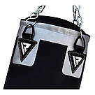 Боксерский мешок RDX Leather Black 1.2 м, 40-50 кг, фото 2