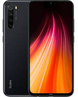 "Смартфон Xiaomi Redmi Note 8 Global 4/64GB Black, 48+8+2+2/13Мп, Snapdragon 665, 2sim, 6.39"" IPS"