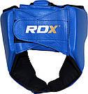 Боксерский шлем для соревнований RDX Blue M, фото 2