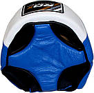 Боксерский шлем для соревнований RDX Blue M, фото 4