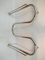 Полотенцесушитель «Змеевик» диаметром трубы 25 мм, размером 60*70 с декором