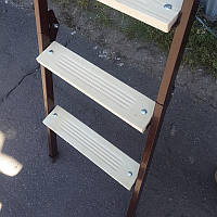 Лестница на чердак 80*70 см металл/дерево (Украина)
