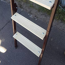 Лестница на чердак Мини 80*70 см металл/дерево (Украина), фото 2