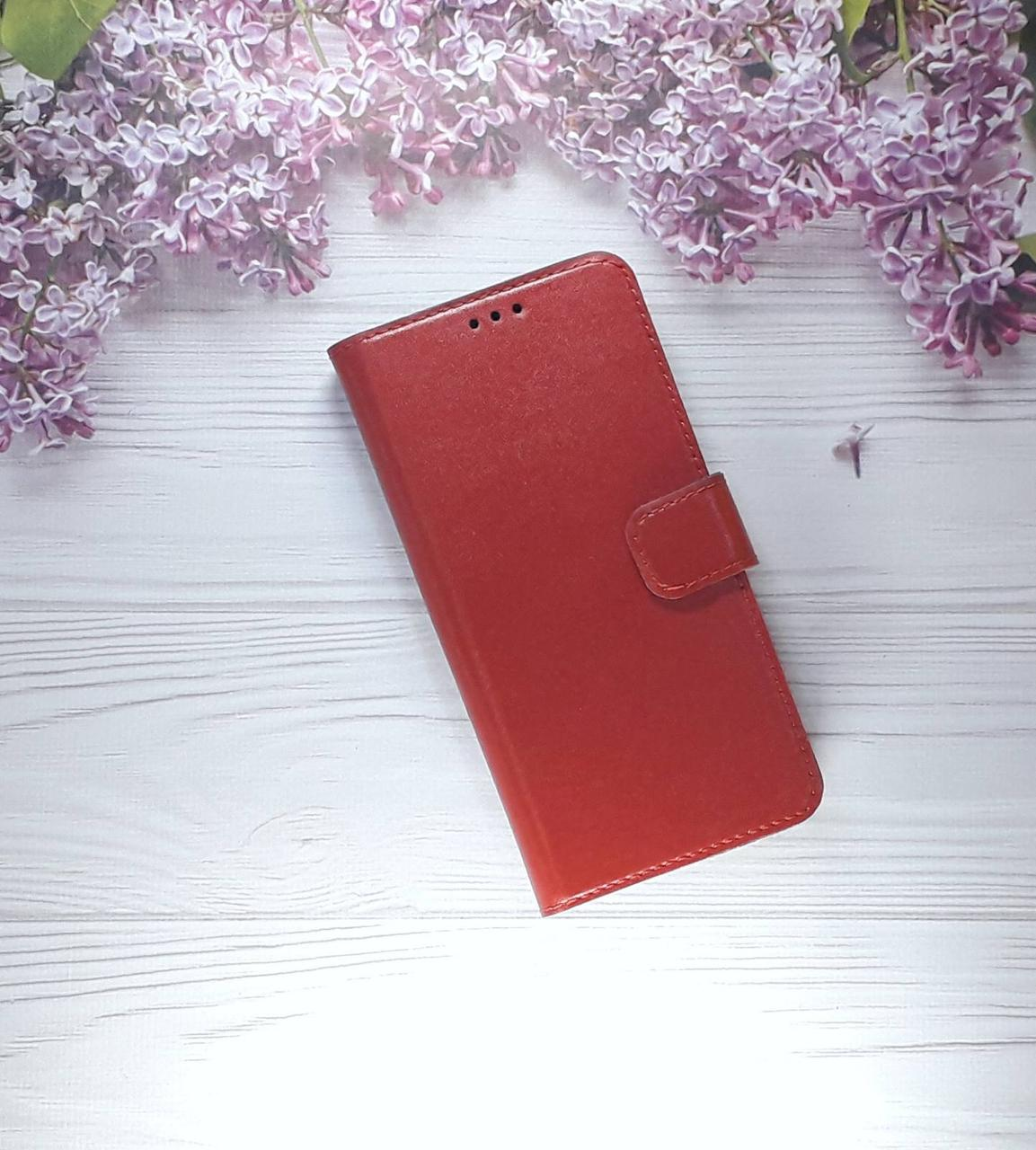 Чехол - книжка (с визитницей) для Huawei PSmart Plus (2018), Red