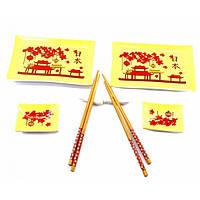 """Сервиз для суши """"Весна в Пекине"""" (2 персоны)(28х24х3 см) ( 32952)"""