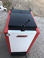 Шахтный твердотопливный котел CARBON- КСТШ-15  (водян. Колосники, обшивка с утиплителем)