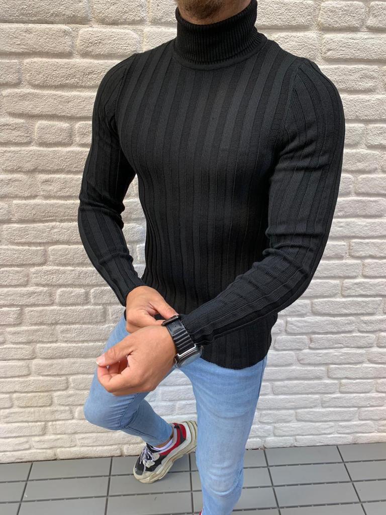 Мужской гольф черный 2300