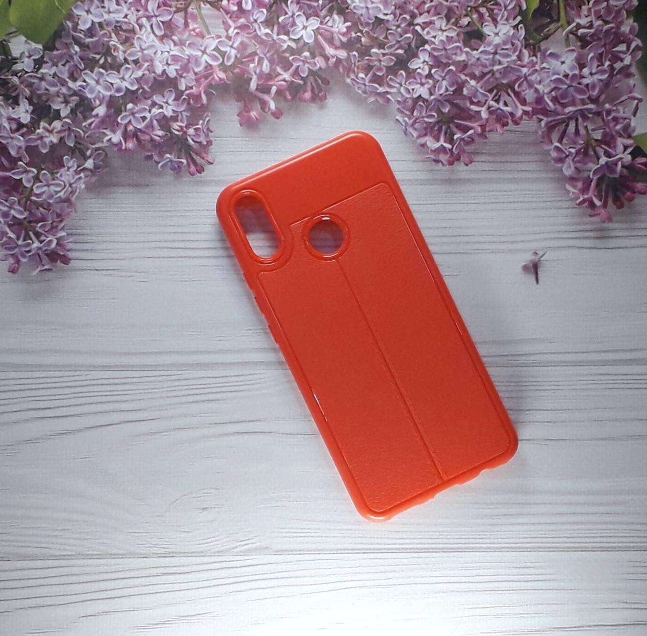 Чехол накладка AutoFocus на Huawei PSmart Plus (2018), Red