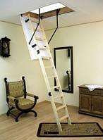 Чердачная лестница OMAN - TERMO PS (с поручнем)
