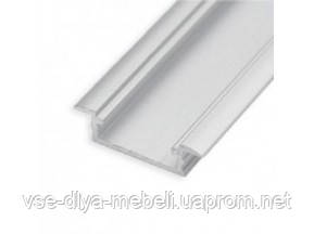 """Профиль """"LL-03"""" врезной L-3000мм для светодиодной ленты, алюминий"""