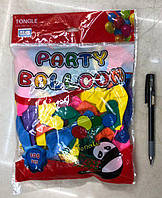 Набор воздушных шариков Стандарт | Шарики латексные 100 шт.