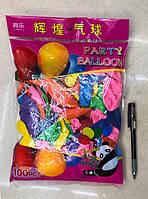 Воздушные шарики Стандарт | Шарики латексные 100 шт.