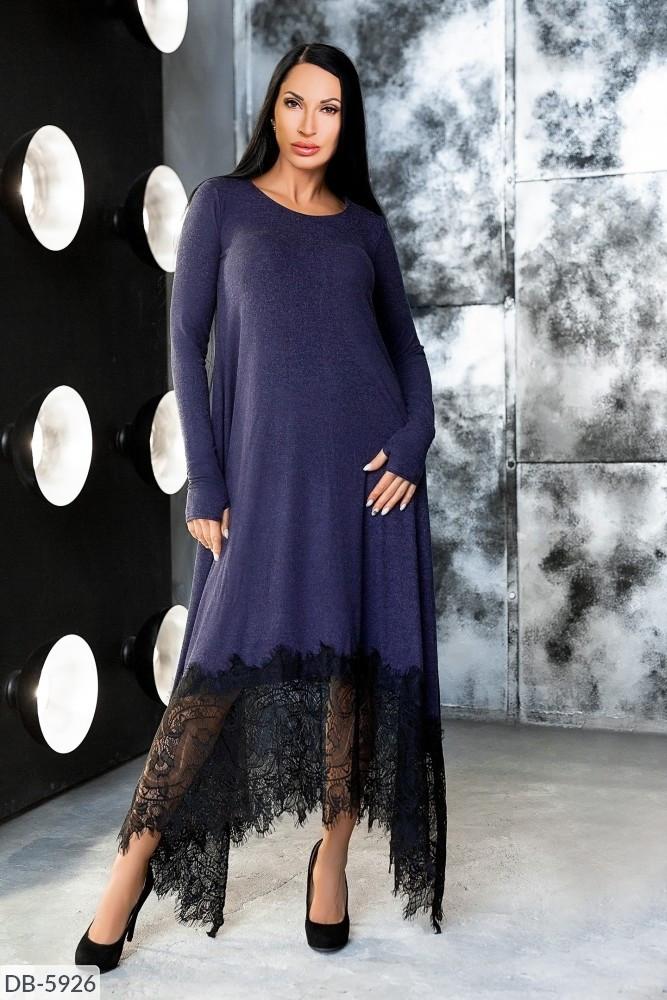 Стильное платье   (размеры 48-54) 0220-39