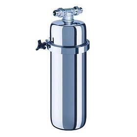"""Корпус фільтра Аквафор Вікінг 20""""BB для очищення води з нержавіючої сталі"""