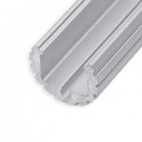 """Профиль """"LL-06"""" круглый L-3000мм для светодиодной ленты, алюминий (134600)"""