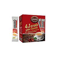 Кофе 4 в 1 с грибом Рейши, экстрактом Моринги и сухим молоком
