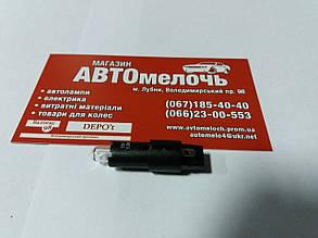 Лампа (патрон) 12V 1.2W SG8-5.5d Black  R509TPBK пр-во Ring